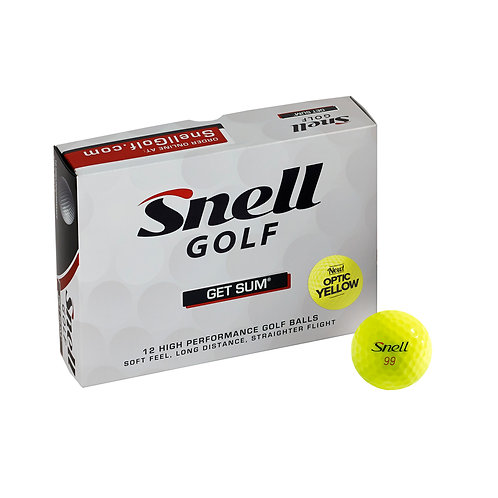 Snell GET SUM - Optic Yellow
