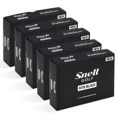 Snell MTB Black Value Pack (5 Dozen)
