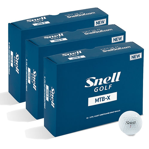 Snell MTB-X Value Pack (3 Dozen)