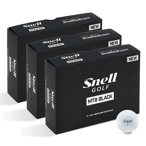 Snell MTB Black Value Pack (3 Dozen)