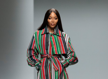 Kenneth Ize FW20 Debut in Paris: Tradition, Elegance and Naomi Campbell
