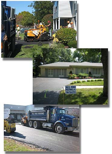 All Pro Paving provides asphalt paving contractor services.