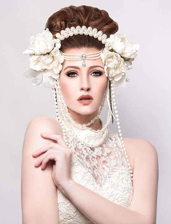 Myra Baldwin Thiessen on photography, hairstyling, wardrobe, styling, concept and headpiece!