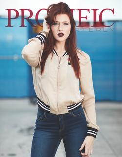 Prolific Quarterly's Cover Model