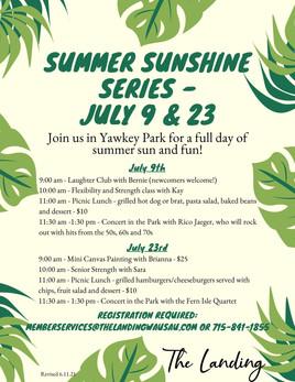 July - Summer Sunshine Series revised 6.