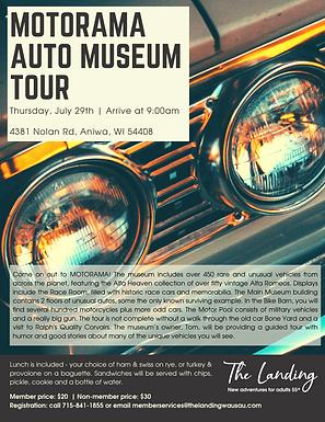 Motorama Auto Museum Tour