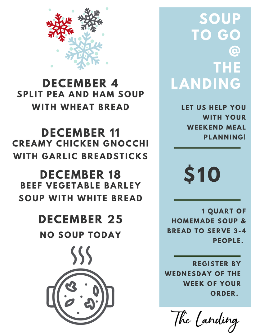 Soup to Go - December 2020