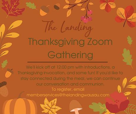 Thanksgiving Zoom Gathering