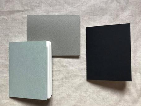 Fabrication de carnets de croquis