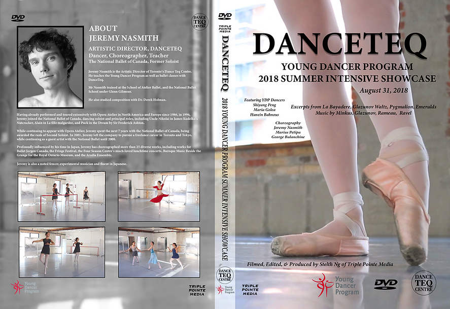 option 2DanceTeq Showcase - DVD Paper In