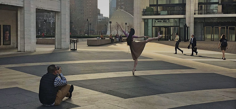 Capturing Boston Ballerina, Rheya Shano | Lincoln Center for the Performing Arts | New York City | Behind the Scenes: Leah Chen Photography