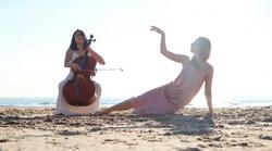 julie alice beach shoot