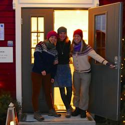 Mette, Heidi og Cecilie
