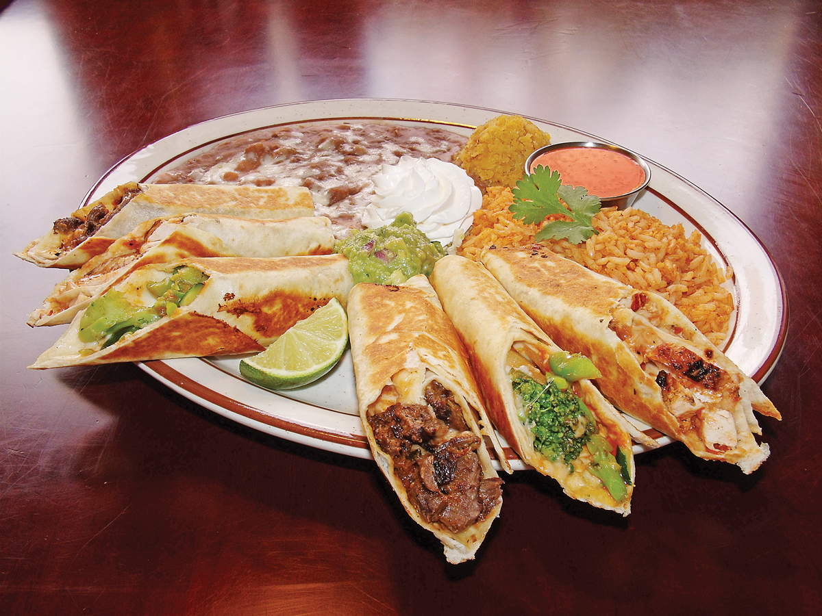 Rolled Grilled Tacos