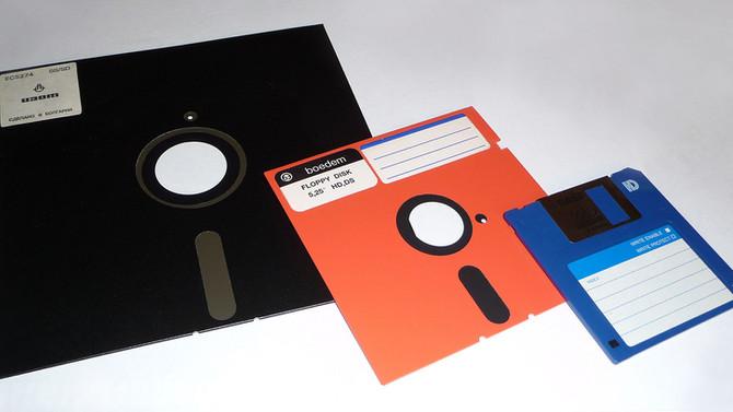Floppy Disk - Disquete