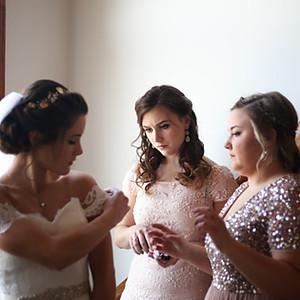 Getting Ready - Mikaela Klein Wedding