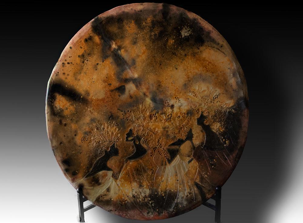 Terracotta Plate.