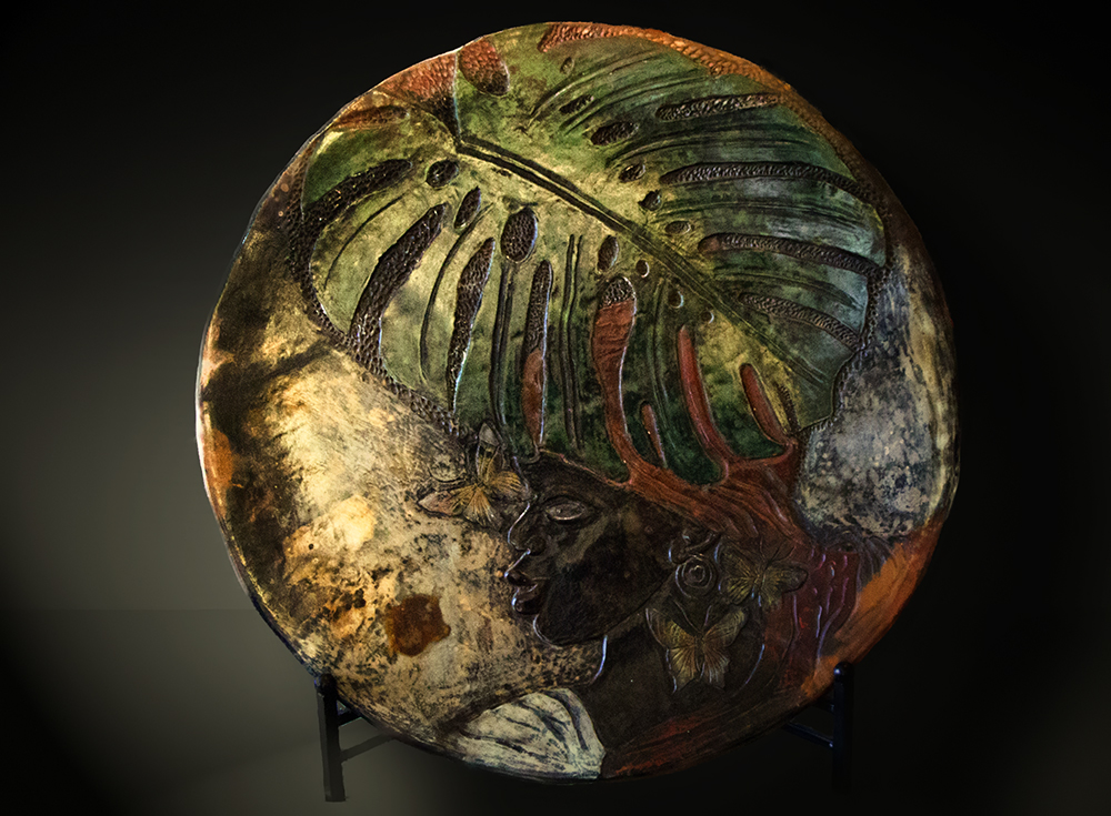 Carved Plate.