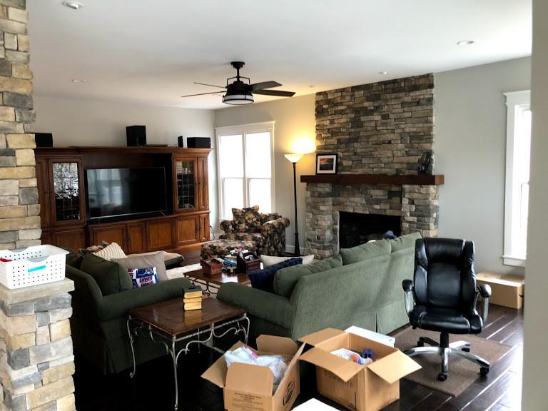 Before - Family Room
