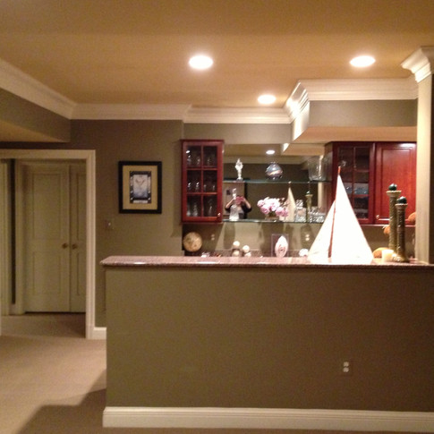 Before - Snack Bar Area