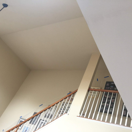 Before - Family Room Stairs