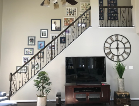 Design In Process - Family Room Stairs