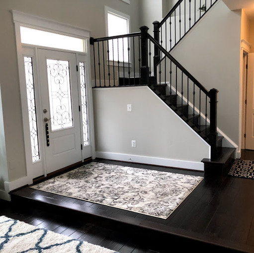 Before - Front Entry Foyer