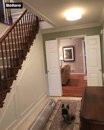 Before - Foyer