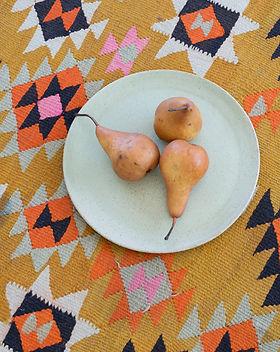 Assiette de poires