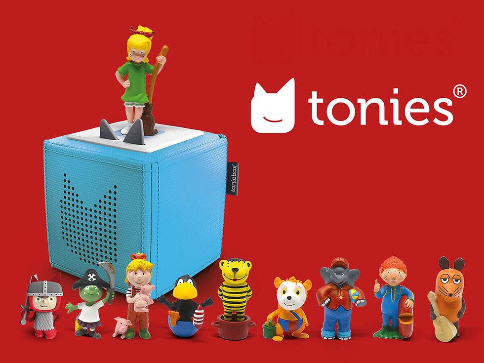 Studio Werner Webdesigner Grafikdesigner Gestaltung tonies Boxine Markteinführungskampagne Anzeigengestaltung