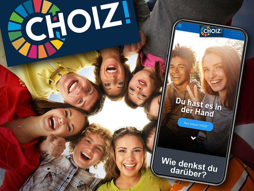 Studio Werner Webdesigner Grafikdesigner Gestaltung LI CHOIZ! Webanwendung App Design und Konzeption