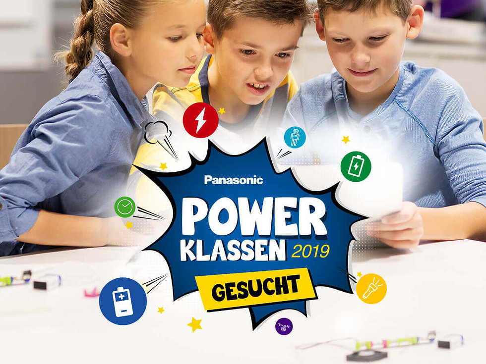 Studio Werner Webdesigner Grafikdesigner Panasonic Schulaktion Unterrichtsmaterial Gestaltung Logodesign Website