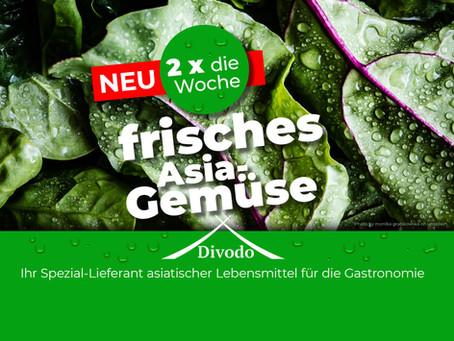 *** GANZ NEU *** 2 x die Woche frisches Asia-Gemüse.
