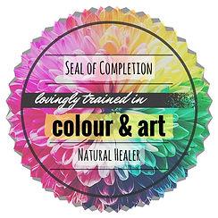 Energy Healing Colour & Art Seal of Comp