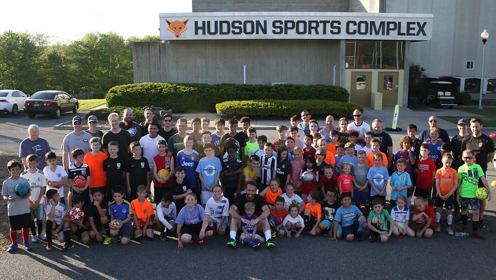 Christian Fuchs - Meet and Greet - Hudson Sports Complex - Warwick, NY