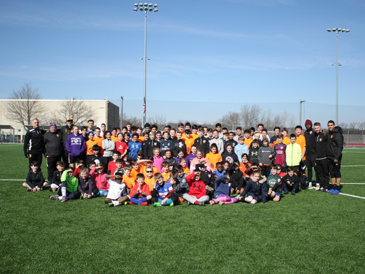 Presidents' Day Soccer Clinic at HSC!
