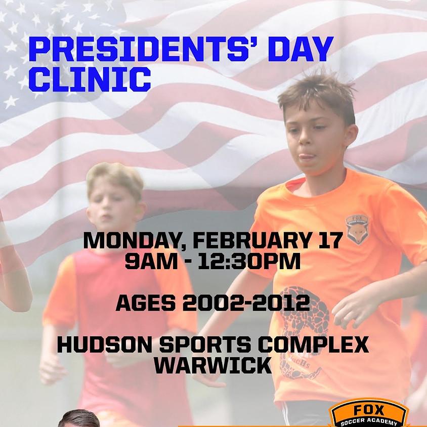 FSA Presidents' Day Clinic!