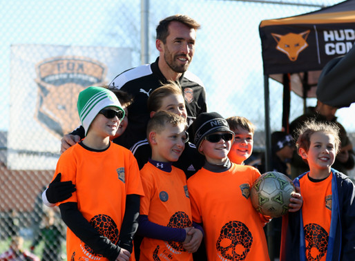 Christian Fuchs Announces Grassroots Sports Foundation