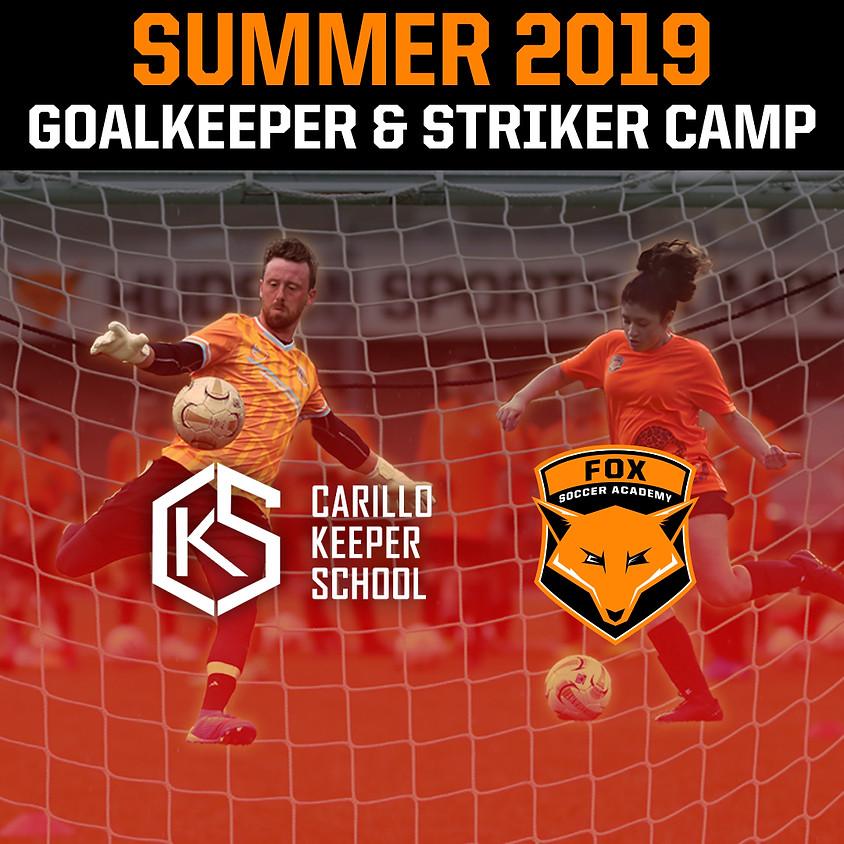 Goalkeeper & Striker Summer Camp: July 29 - Aug. 1