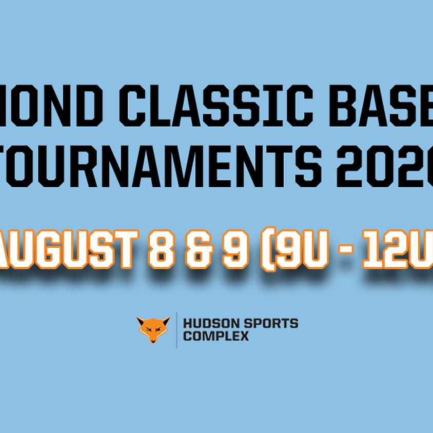 Diamond Classic Baseball Tournaments - Aug. 8 & 9, 2020