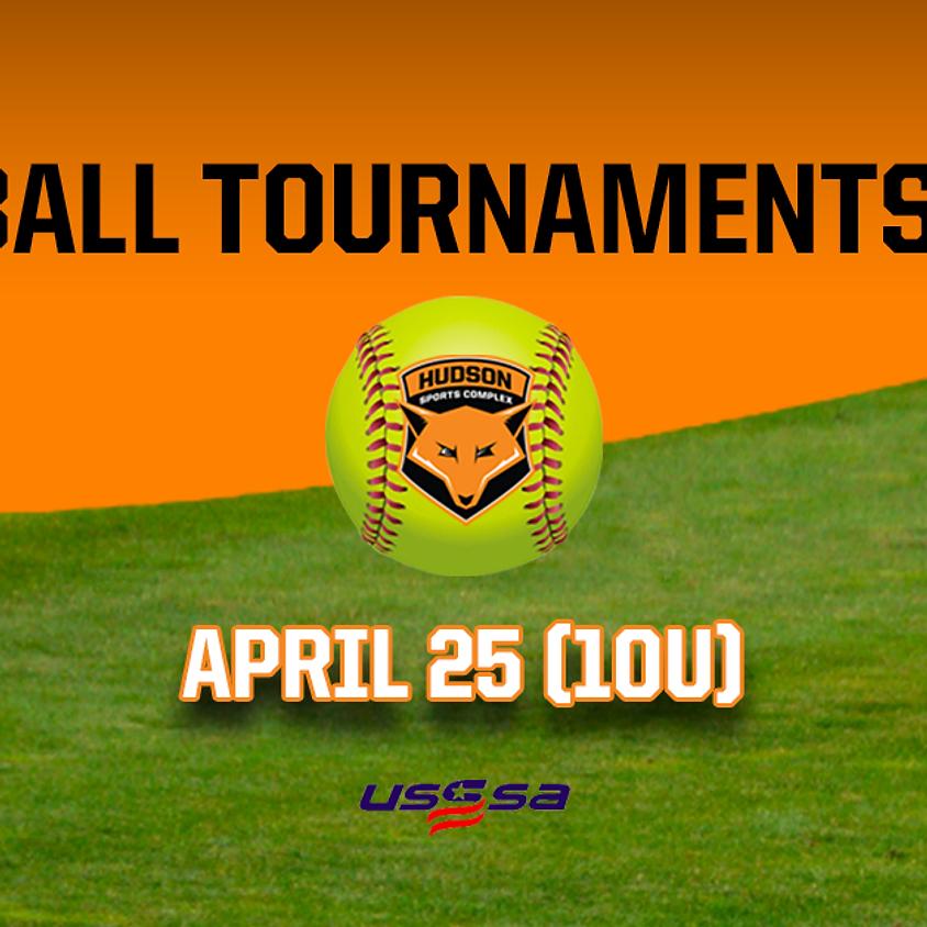 Softball Tournaments 2020 - April 25, 2020