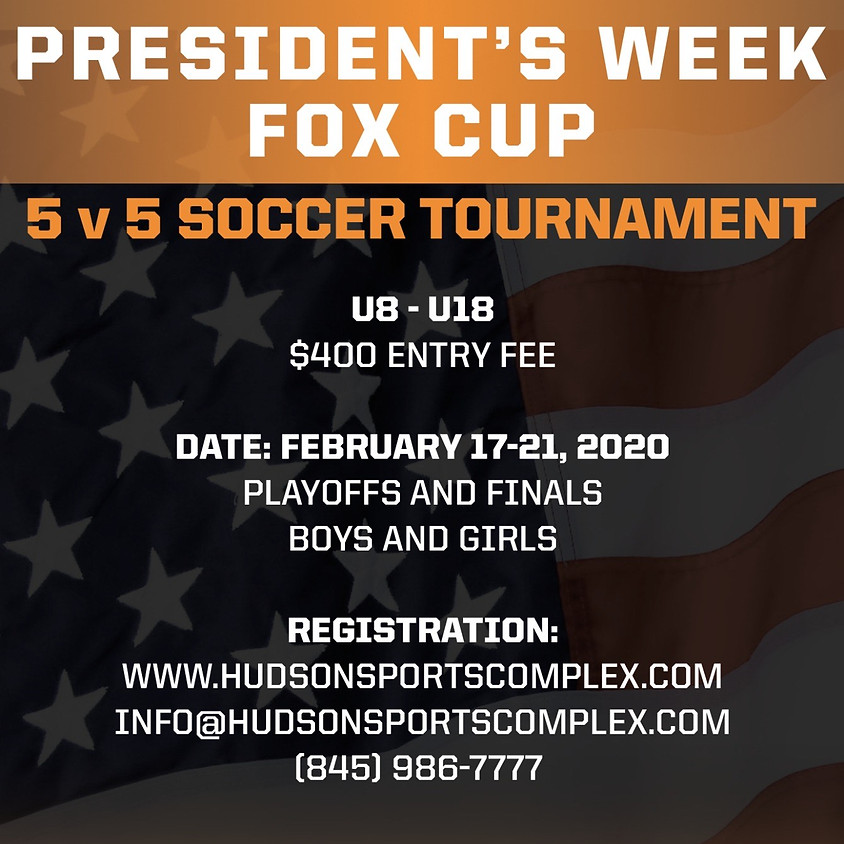 President's Week Fox Cup - Youth Soccer Tournament