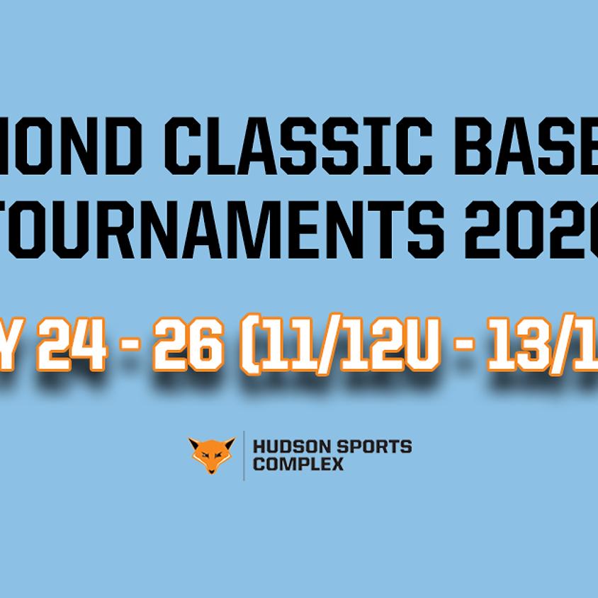 Diamond Classic Baseball Tournaments - July 24 - 26, 2020