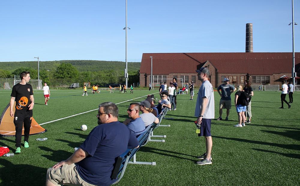 Soccer Fans - Hudson Sports Complex - Warwick, NY