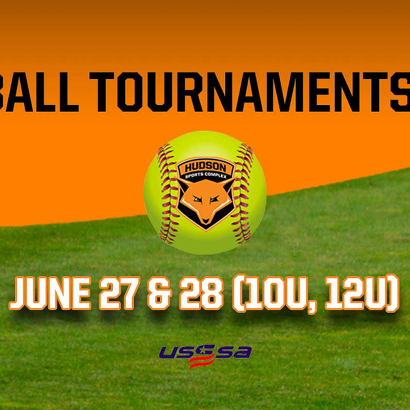 Softball Tournaments 2020 - June 27 & 28