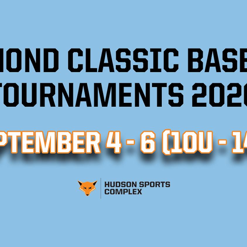 Diamond Classic Baseball Tournaments - Sept. 4 - 6, 2020