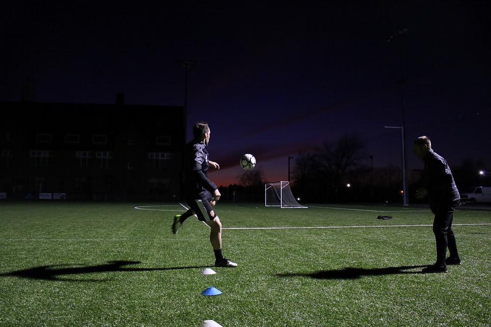 Christian Fuchs Soccer Training - Hudson Sports Complex