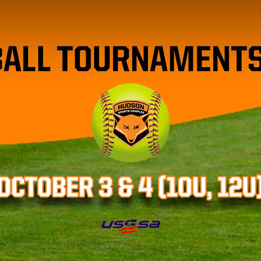 Softball Tournaments 2020 - October 3 & 4