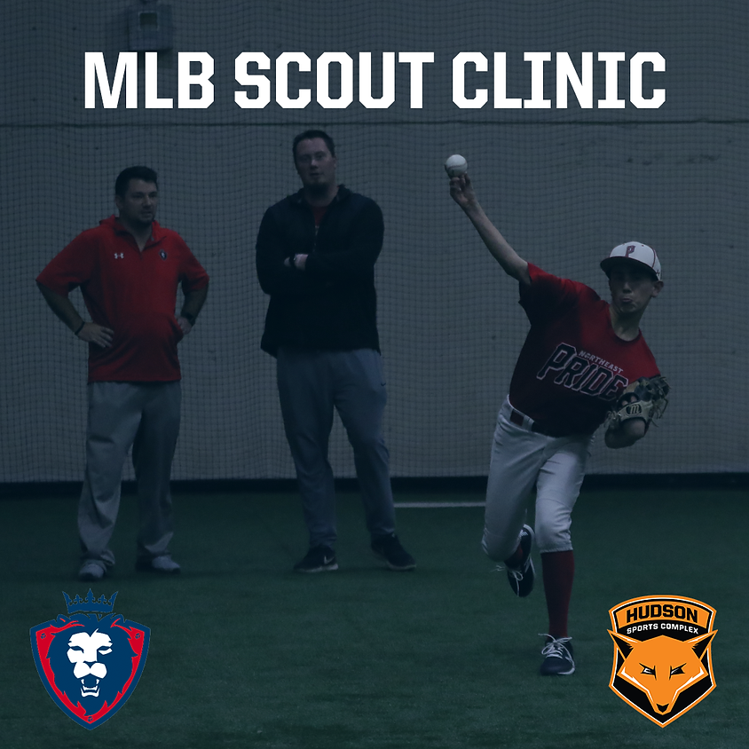 MLB Scout Clinic with Northeast Pride