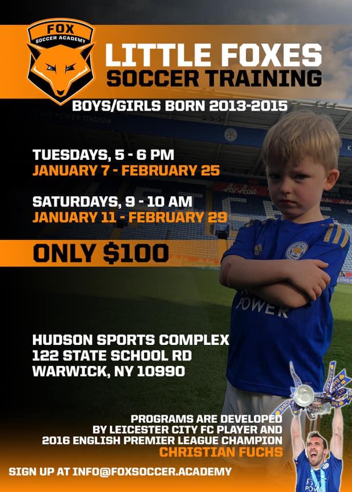 Fox Soccer Academy - Little Foxes Soccer